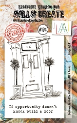 AALL & Create - Clear Stamp A7 size - Set #191 House Set 4