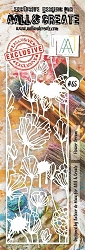 AALL & Create - Plastic Stencil - #65 Flower Dream (Border-8