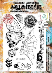 AALL & Create - Clear Stamp A4 size - Set #367 Take Flight