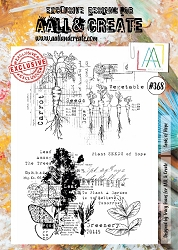 AALL & Create - Clear Stamp A4 size - Set #368 Seeds of Hope