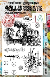 AALL & Create - Clear Stamp A5 size - Set #371 Deep Focus