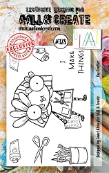 AALL & Create - Clear Stamp A7 size - Set #378 The Crafter