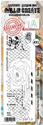 AALL & Create - Clear Stamp Border - Set #205 Postal Rose