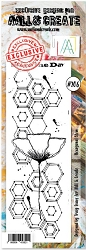 AALL & Create - Clear Stamp Border - Set #206 Hexagon Stem