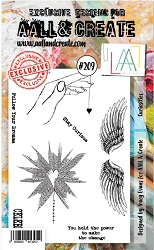 AALL & Create - Clear Stamp A6 size - Set #209 Curiosities