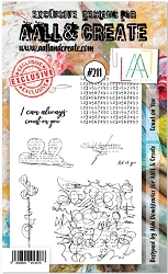AALL & Create - Clear Stamp A6 size - Set #211 Count on You