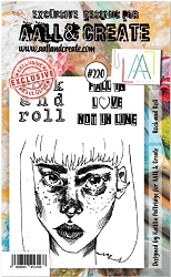 AALL & Create - Clear Stamp A6 size - Set #220 Rock and Roll