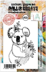 AALL & Create - Clear Stamp A7 size - Set #223 Koala