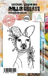 AALL & Create - Clear Stamp A7 size - Set #226 Roo