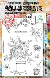 AALL & Create - Clear Stamp A5 size - Set #451 In the Bucket