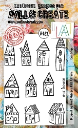 AALL & Create - Clear Stamp A6 size - Set #462 Our House