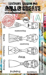 AALL & Create - Clear Stamp A6 size - Set #463 The Gentlemen