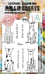 AALL & Create - Clear Stamp A6 size - Set #465 Tall Cats