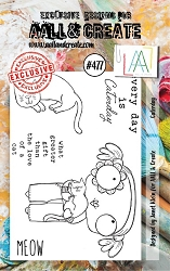 AALL & Create - Clear Stamp A7 size - Set #477 Caterday