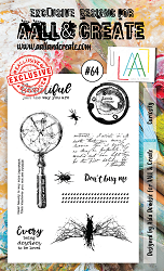 AALL & Create - Clear Stamp A6 size - Set #64 Curiosity
