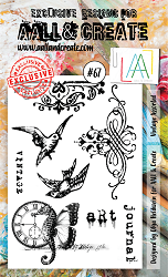 AALL & Create - Clear Stamp A6 size - Set #67 Vintage Assorted