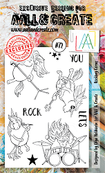 AALL & Create - Clear Stamp A6 size - Set #72 Rocking Corns
