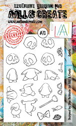 AALL & Create - Clear Stamp A6 size - Set #73 Quirks