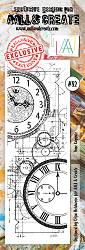 AALL & Create - Clear Stamp Border - Set #82 Time Capsule
