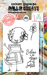AALL & Create - Clear Stamp A7 size - Set #83 Lilith