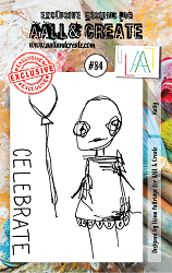 AALL & Create - Clear Stamp A7 size - Set #84 Kaily
