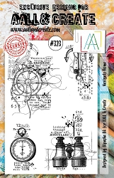AALL & Create - Clear Stamp A5 size - Set #323 Navigate Home