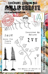 AALL & Create - Clear Stamp A5 size - Set #328 Beauty of Nature