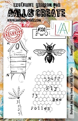 AALL & Create - Clear Stamp A5 size - Set #330 Honeybee