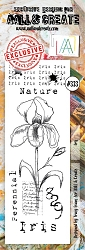AALL & Create - Clear Stamp Border - Set #333 Iris