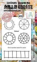 AALL & Create - Clear Stamp A6 size - Set #339 Color Theory