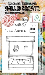 AALL & Create - Clear Stamp A6 size - Set #343 The Stand