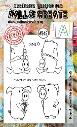 AALL & Create - Clear Stamp A6 size - Set #345 Bacon