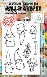 AALL & Create - Clear Stamp A6 size - Set #347 Gnomes