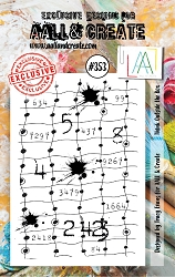 AALL & Create - Clear Stamp A7 size - Set #353 Think Outside the Box