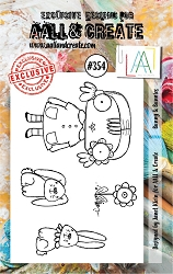 AALL & Create - Clear Stamp A7 size - Set #354 Bunny and Bunnies