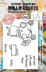 AALL & Create - Clear Stamp A7 size - Set #361 Bloom