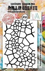 AALL & Create - Clear Stamp A7 size - Set #363 Quirky Cobbles