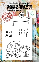 AALL & Create - Clear Stamp A7 size - Set #414 Bear Hugs
