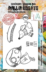 AALL & Create - Clear Stamp A7 size - Set #426 Warm & Cosy