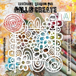 AALL & Create - Plastic Stencil - #118 Saturday Morning (6