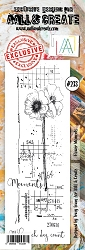 AALL & Create - Clear Stamp Border - Set #233 Flower Moments