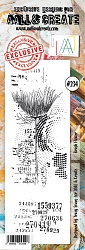 AALL & Create - Clear Stamp Border - Set #234 Brush Flower