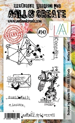 AALL & Create - Clear Stamp A6 size - Set #242 Mailbox Elements