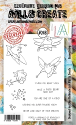 AALL & Create - Clear Stamp A6 size - Set #248 Beary Fairy