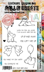 AALL & Create - Clear Stamp A6 size - Set #250 Lift Me Up