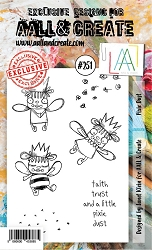 AALL & Create - Clear Stamp A6 size - Set #251 Pixie Dust