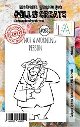 AALL & Create - Clear Stamp A7 size - Set #253 Morning