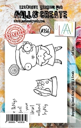 AALL & Create - Clear Stamp A7 size - Set #256 Cat Love