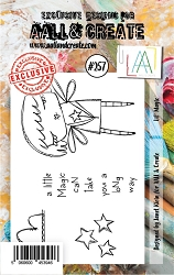 AALL & Create - Clear Stamp A7 size - Set #257 Lil' Magic