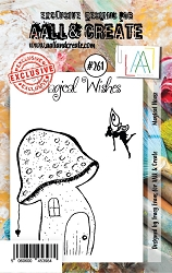 AALL & Create - Clear Stamp A7 size - Set #261 Magical House